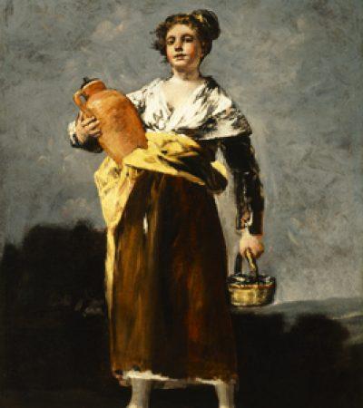 La aguadora, de Francisco de Goya