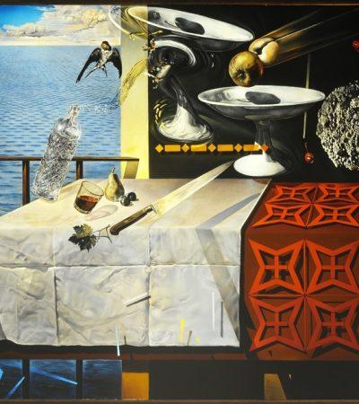 El nacimiento de la poesía. Dalí, «Naturaleza muerta viviente»