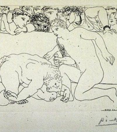 La belleza de Eros. Picasso, «Minotauromaquia»