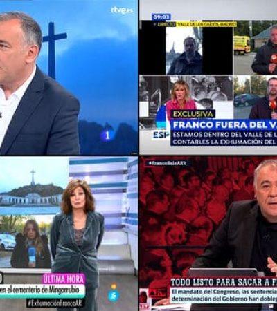 Exhumación de Franco. La memoria como propaganda